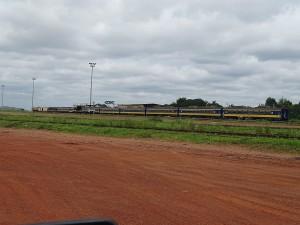 Personenzug der Gabon Railway