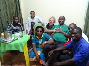Congolesische Gastfreundschft