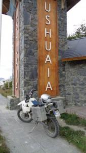 """meine """"Neue"""" vor Ushuaia"""