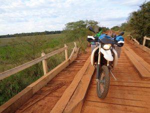auf kleinen Nebenstrecken durch Paraguay