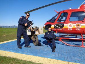 Bei den Rettungsfliegern in Florianopolis