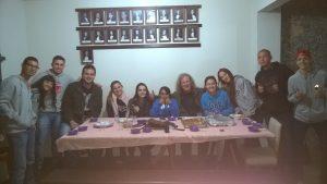 zu Gast bei Studenten in Ouro Preto
