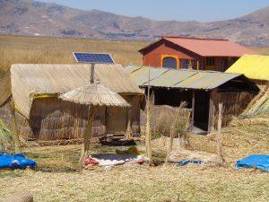 auch die Neuzeit hat hier Einzug gehalten mit Solaranlagen