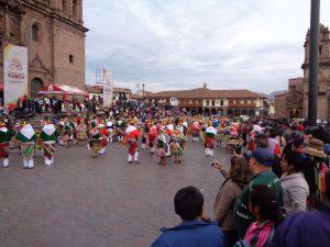 Cusco, fast jeden Tagirgend ein Spektakel