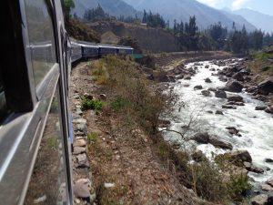 MIt dem Zug nach Machu Picchu