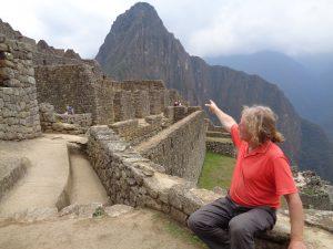 Machu Picchu ganz nah, auf den Berg kann man klettern -wenn man rechtzeitig bucht.