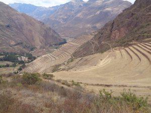 Terrassenfelder der Inka im Heiligen Tal